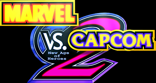 Marvel Vs. Capcom 2 New Age of Heroes (Export, Korea, Rev A) Marquee