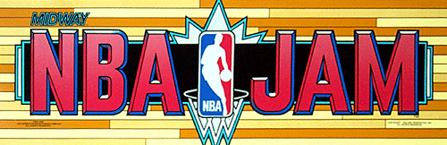 NBA Jam (rev 3.01 04/07/93) Marquee