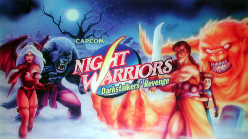 Night Warriors: Darkstalkers' Revenge (Euro 950316) Marquee