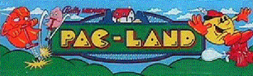 Pac-Land (World) Marquee
