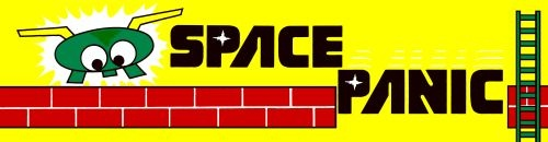 Space Panic (version E) Marquee