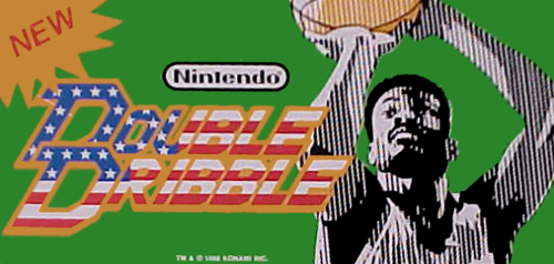 Double Dribble (PlayChoice-10) Marquee