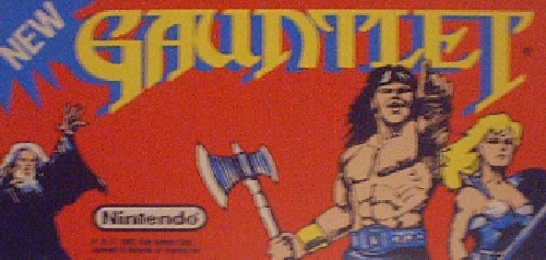 Gauntlet (PlayChoice-10) Marquee