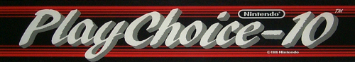 Hogan's Alley (PlayChoice-10) Marquee