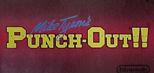 Mike Tyson's Punch-Out!! (PlayChoice-10) Marquee