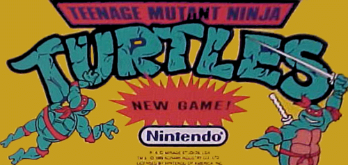 Teenage Mutant Ninja Turtles (PlayChoice-10) Marquee