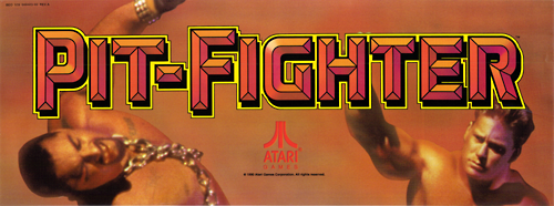 Pit Fighter (rev 9) Marquee
