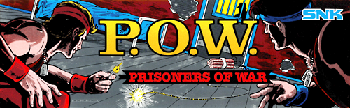 P.O.W. - Prisoners of War (US version 1) Marquee