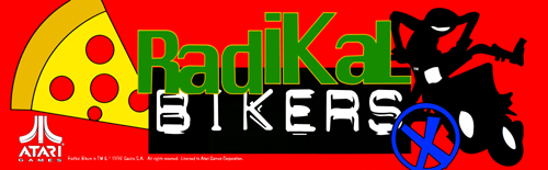 Radikal Bikers (Version 2.02) Marquee