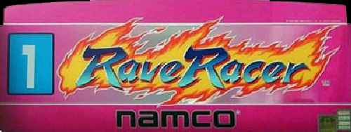 Rave Racer (Rev. RV2, World) Marquee
