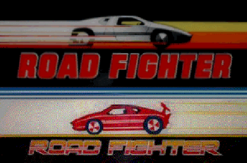Road Fighter (set 2) Marquee