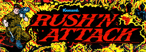 Rush'n Attack (US) Marquee