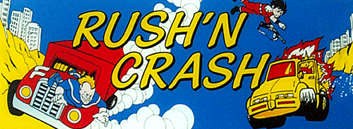 Rush & Crash (Japan) Marquee