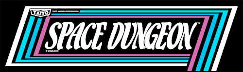 Space Dungeon Marquee