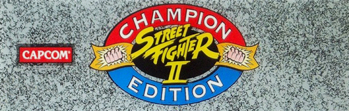 Street Fighter II': Champion Edition (World 920313) Marquee