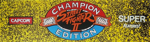Street Fighter II': Champion Edition (US 920313) Marquee