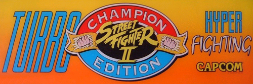 Street Fighter II': Hyper Fighting (US 921209) Marquee