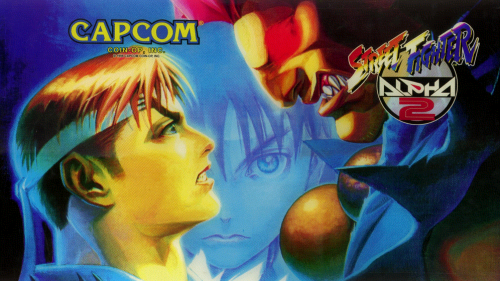 Street Fighter Alpha 2 (Euro 960229) Marquee