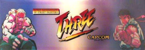 Street Fighter III: New Generation (Euro 970204) Marquee