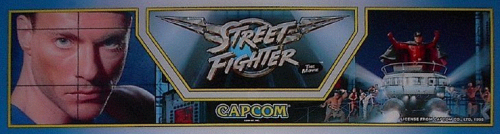Street Fighter: The Movie (v1.12) Marquee