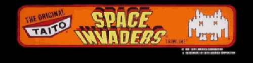 Space Invaders (CV Version, larger roms) Marquee