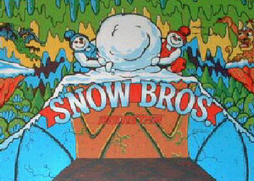 Snow Bros. - Nick & Tom (Japan) Marquee