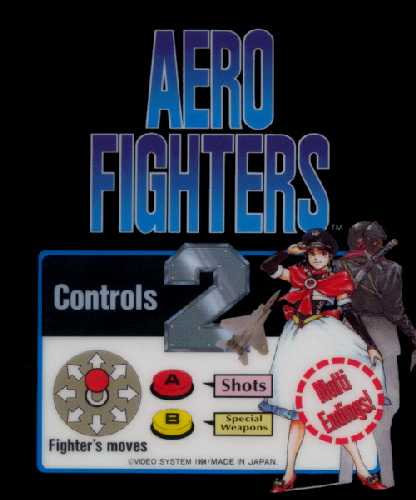 Aero Fighters 2 / Sonic Wings 2 Marquee