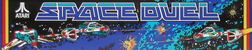 Space Duel (version 2) Marquee
