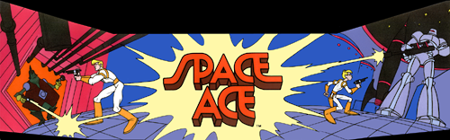 Space Ace (US Rev. A3) Marquee