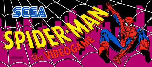 Spider-Man: The Videogame (World) Marquee