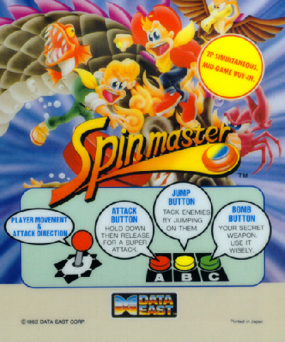 Spin Master / Miracle Adventure Marquee