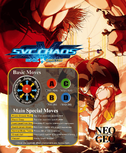 SNK vs. Capcom - SVC Chaos (NGM-2690 ~ NGH-2690) Marquee