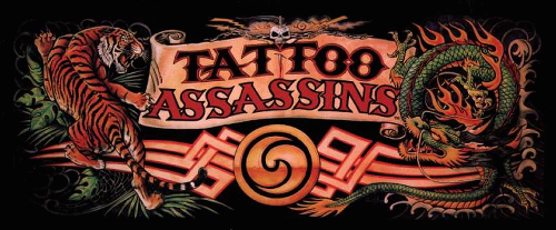 Tattoo Assassins (US prototype) Marquee