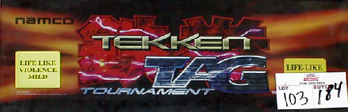 Tekken Tag Tournament (US, TEG3/VER.C1) Marquee