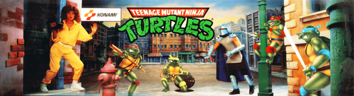 Teenage Mutant Ninja Turtles (World 4 Players, version X) Marquee