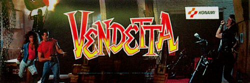 Vendetta (World, 4 Players, ver. T) Marquee