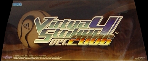 Virtua Striker 4 (Export) (GDT-0015) Marquee