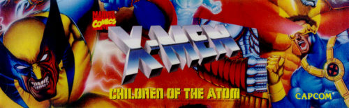X-Men: Children of the Atom (Euro 950105) Marquee