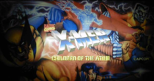 X-Men: Children of the Atom (Asia 941217) Marquee