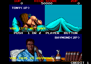Crime City (World) select screen