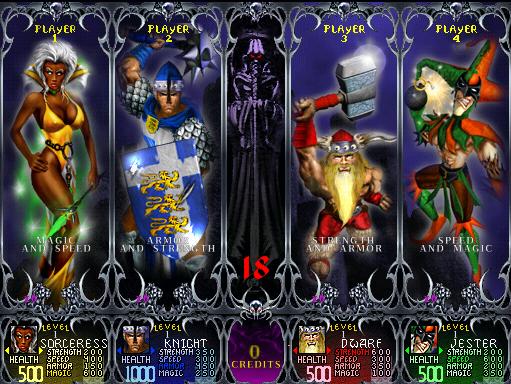Gauntlet Dark Legacy (version DL 2.52) ROM < MAME ROMs | Emuparadise
