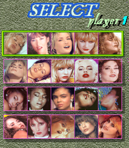 Hot Pinball select screen