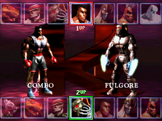 Killer Instinct (v1.5d) select screen