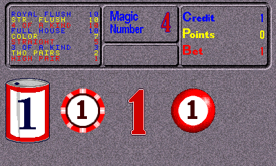 Magic Joker (v1.25.10.2000) select screen
