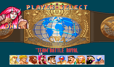 Muscle Bomber Duo: Ultimate Team Battle (World 931206) select screen