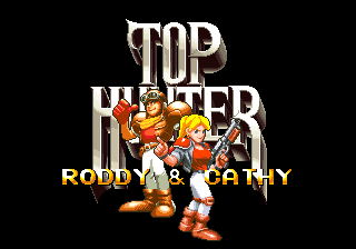 Top Hunter: Roddy & Cathy (Set 1) select screen