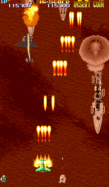 19XX: The War Against Destiny (USA 951207 Phoenix Edition) (Bootleg) Screenshot