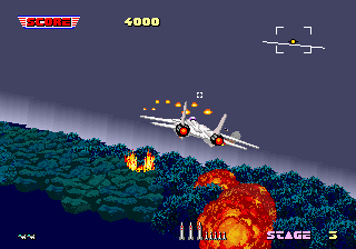 After Burner Screenshot