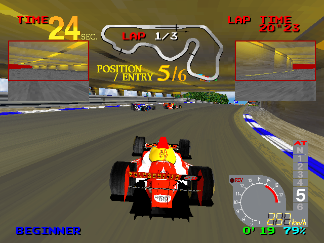 Ace Driver: Racing Evolution (Rev. AD2) Screenshot