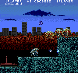 Act-Fancer Cybernetick Hyper Weapon (World revision 1) Screenshot